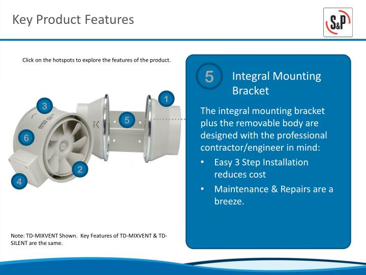 Key Product Features