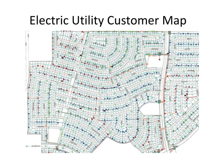 Electric Utility Customer Map