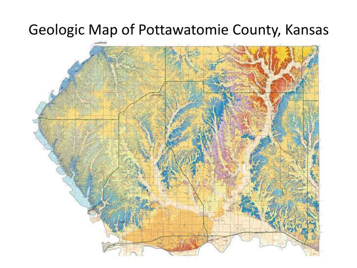 Geologic Map of Pottawatomie County, Kansas