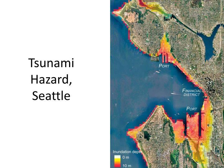 Tsunami Hazard, Seattle