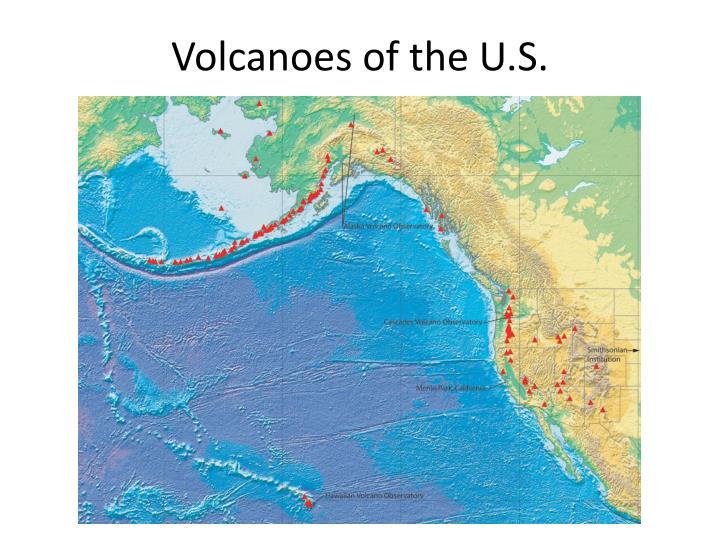 Volcanoes of the U.S.