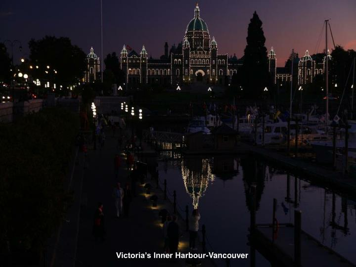 Victoria's Inner Harbour-Vancouver