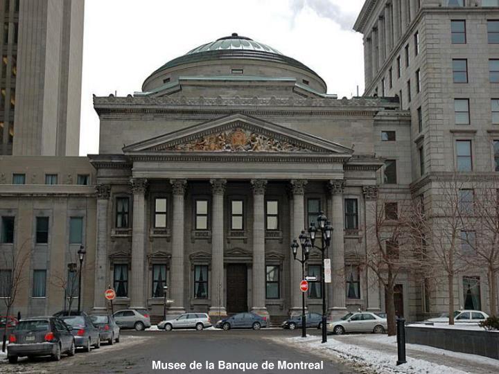 Musee de la Banque de Montreal