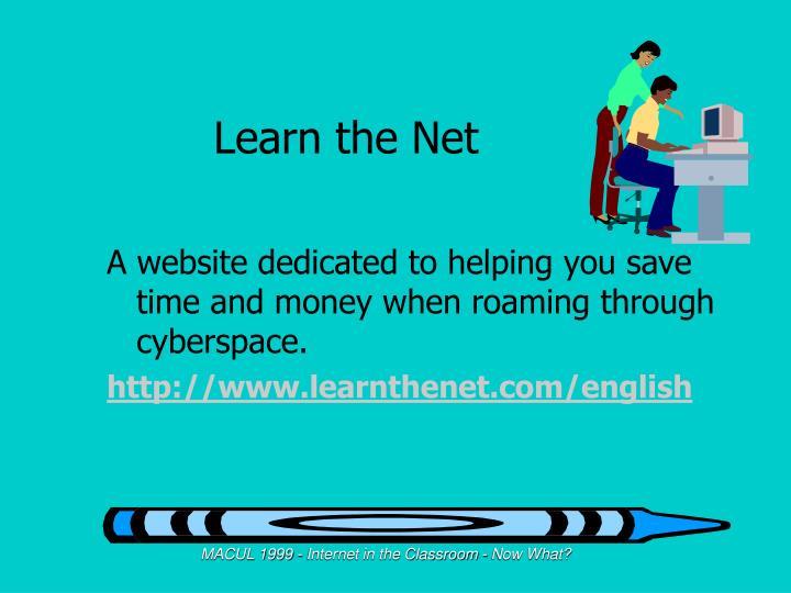Learn the Net