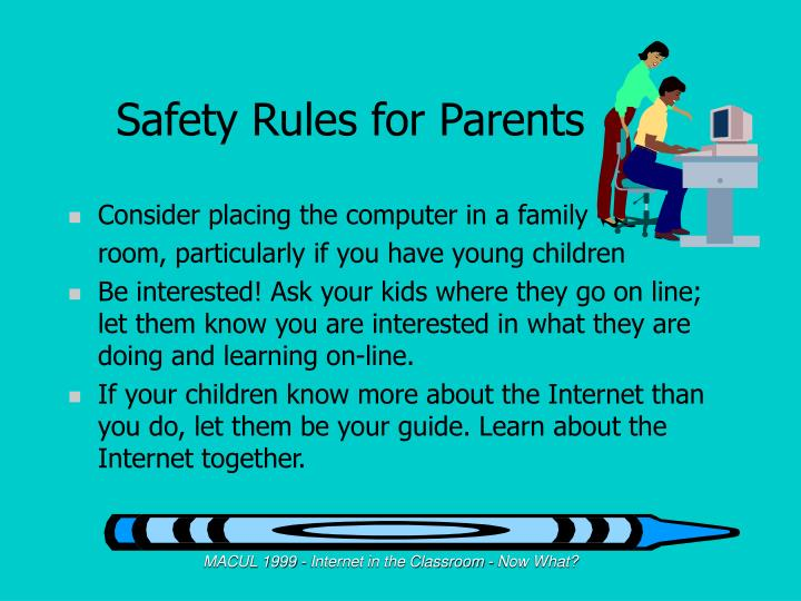 Safety Rules for Parents