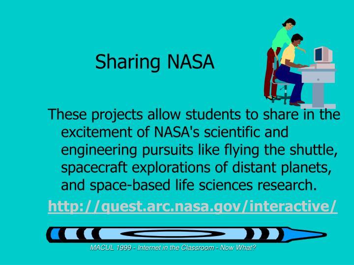 Sharing NASA