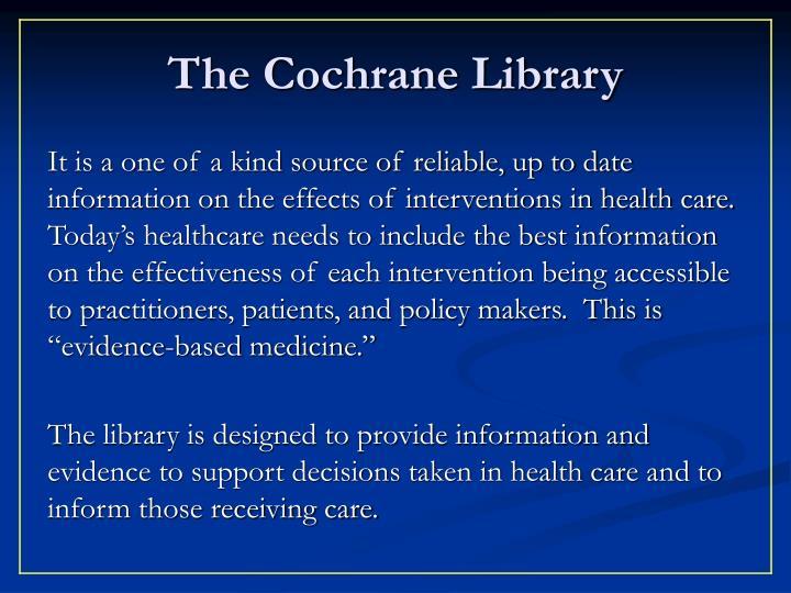 The Cochrane Library