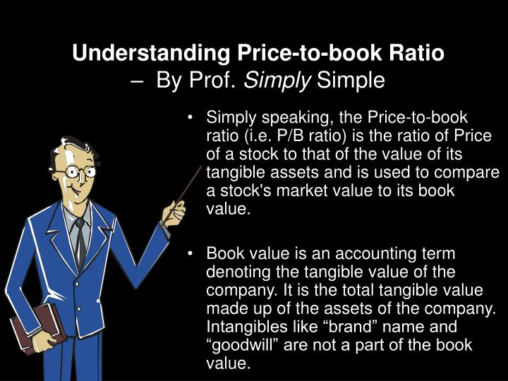 understanding price to book ratio by prof simply simple n.