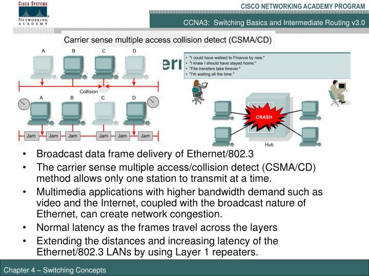 Elements of Ethernet/802.3 networks