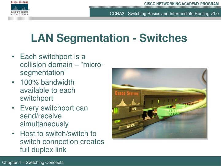 LAN Segmentation - Switches