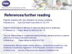 references further reading1