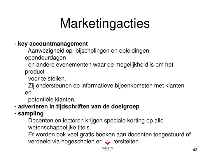 Marketingacties