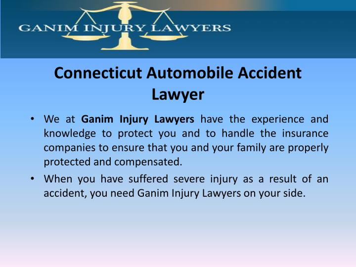 Connecticut Automobile Accident Lawyer