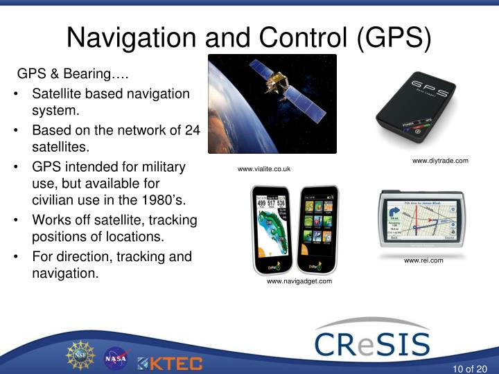 Navigation and Control (GPS)