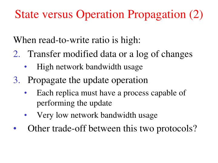 State versus Operation Propagation (2)
