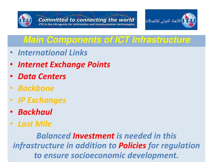 Main Components of ICT