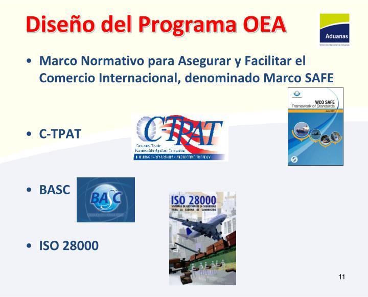 Diseño del Programa OEA