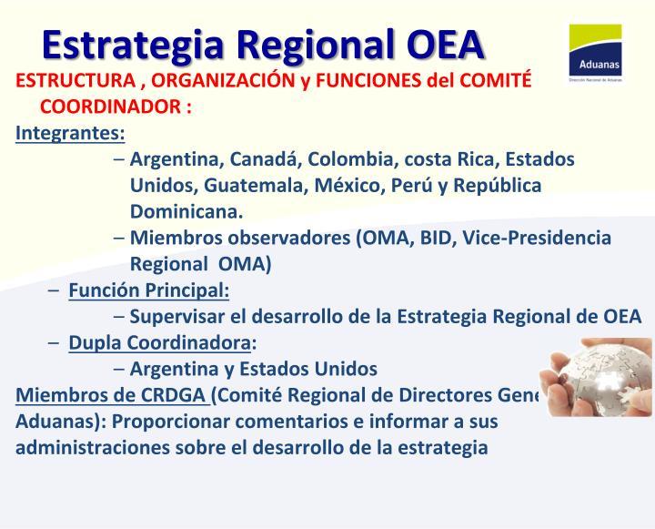 Estrategia Regional OEA