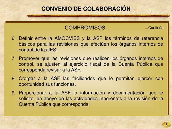 CONVENIO DE COLABORACIÓN