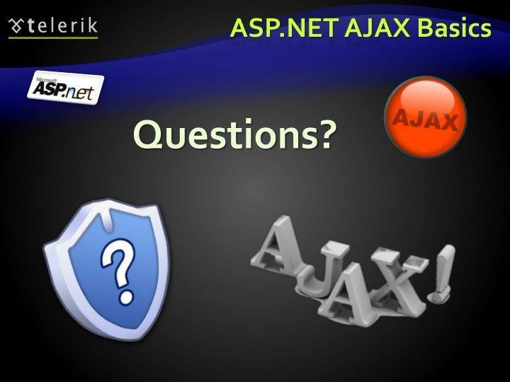 ASP.NET AJAX Basics