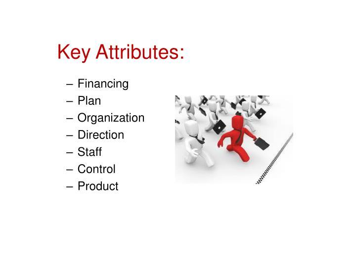 Key Attributes: