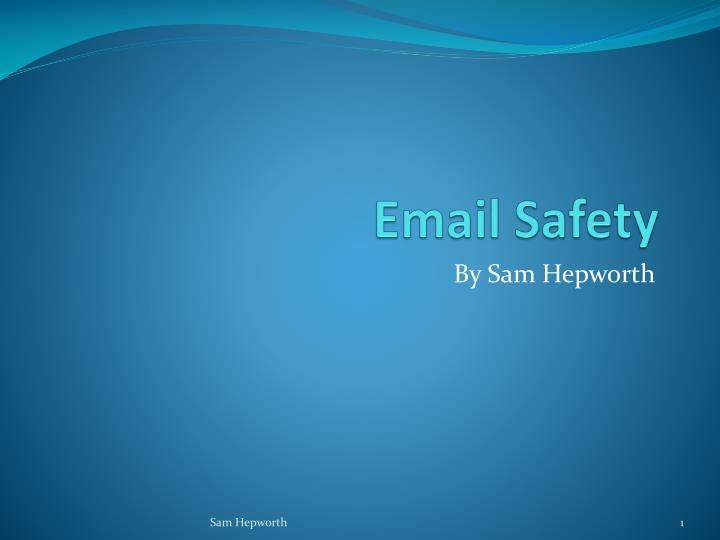 email safety n.
