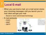 local e mail
