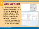 web browsers1