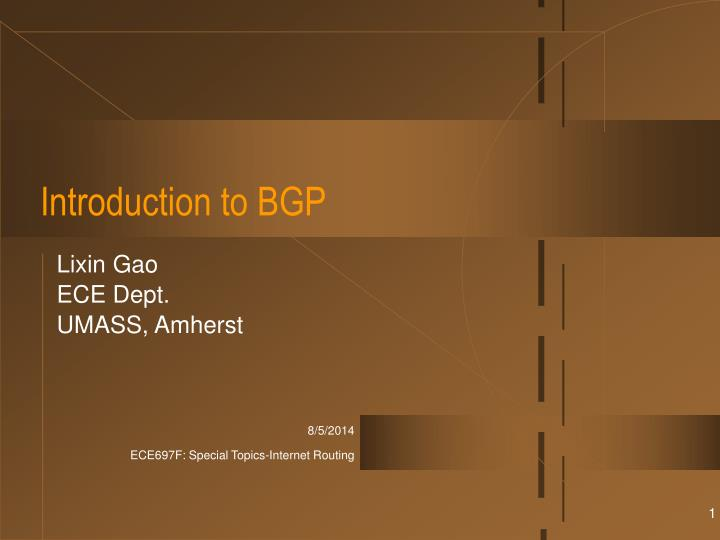 introduction to bgp n.
