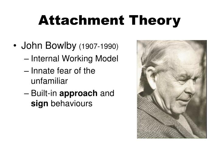 human attachment theory Attachment theory describes the dynamics of long-term relationships between humans attachment theory explains how much the parents' relationship with the child influences development.
