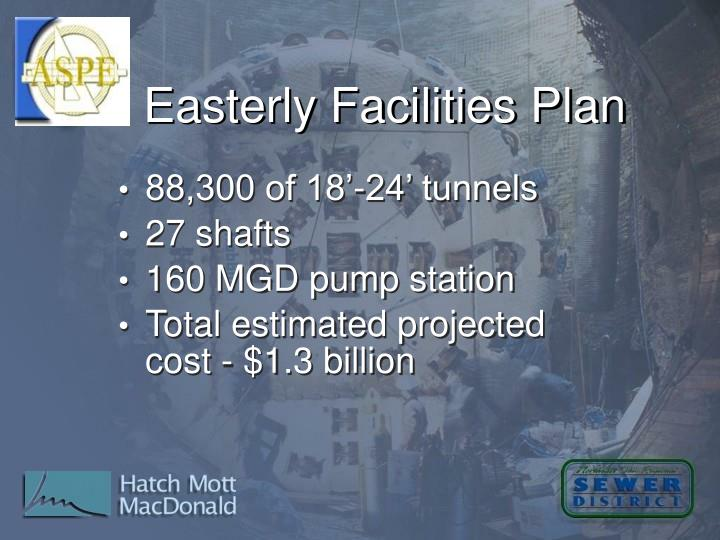 Easterly Facilities Plan