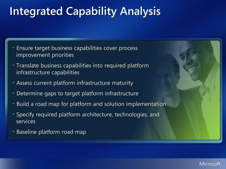 Integrated Capability Analysis