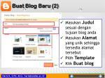 buat blog baru 2