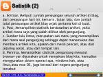satistik 2
