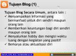 tujuan blog 1