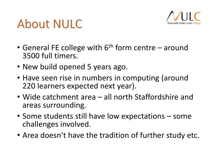 About nulc