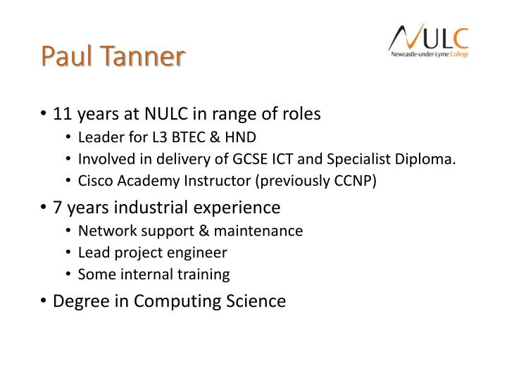 Paul tanner