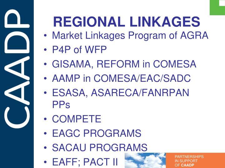 REGIONAL LINKAGES