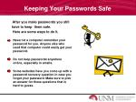 keeping your passwords safe1