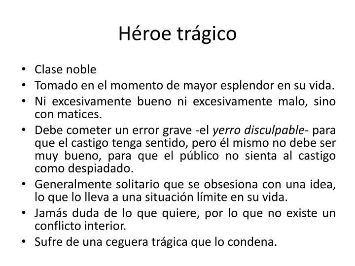 Héroe trágico
