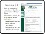 search a bull