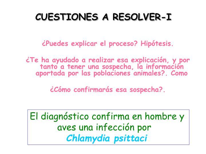 CUESTIONES A RESOLVER-I