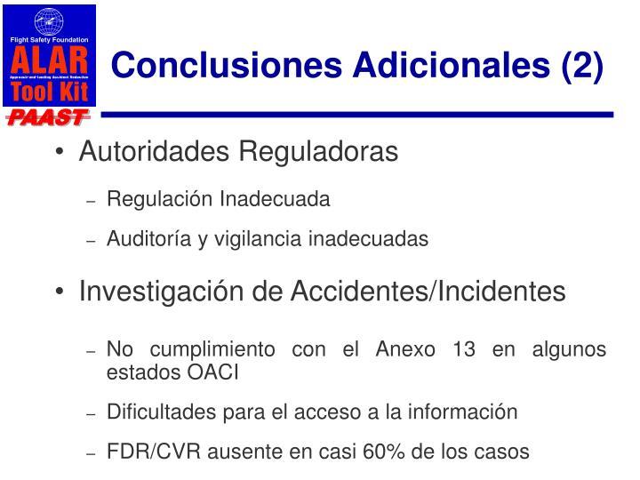 Conclusiones Adicionales (2)