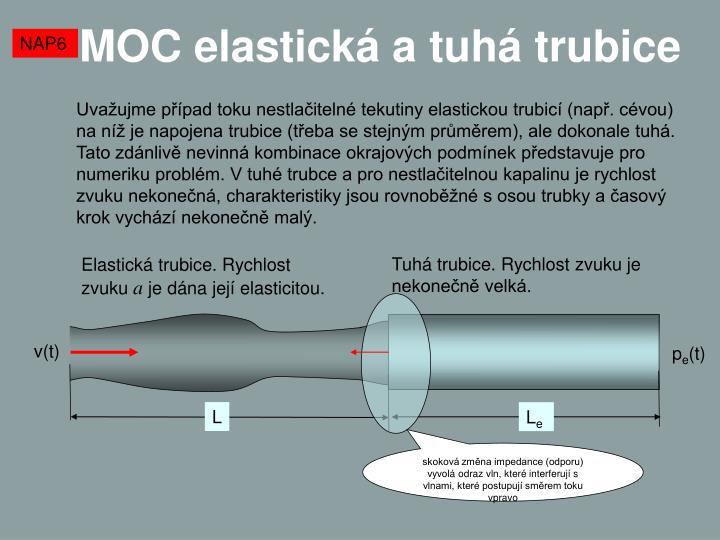 MOC elastická a tuhá trubice