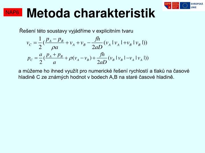 Metoda charakteristik