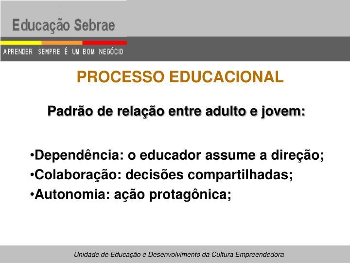 PROCESSO EDUCACIONAL