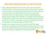 indian monsoon inflation