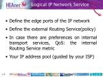 logical ip network service