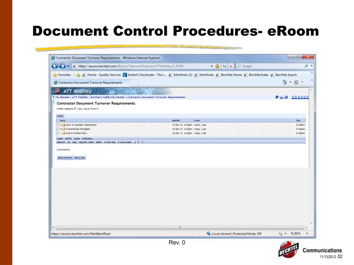 Document Control Procedures-
