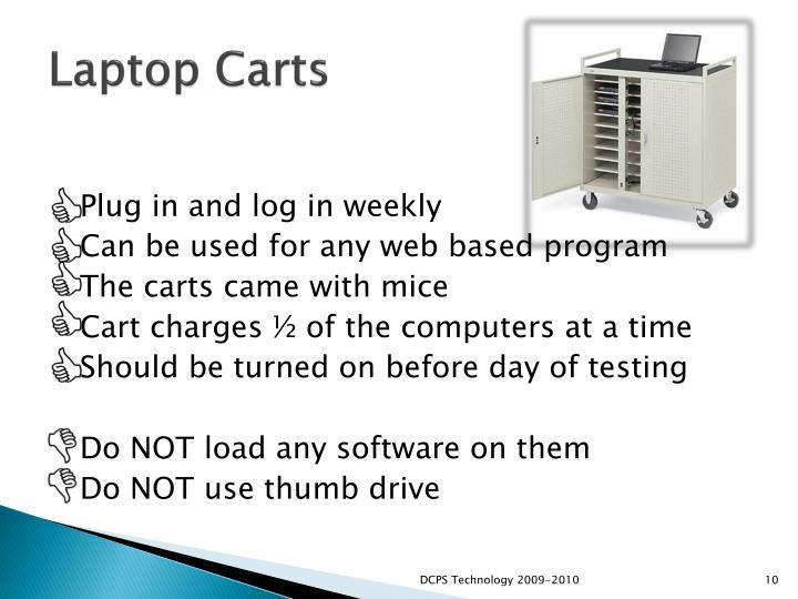 Laptop Carts